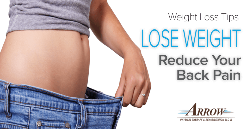 lower back pain and weight loss